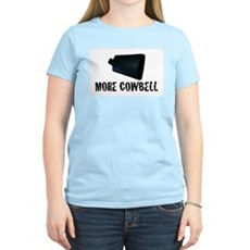 More Cowbell v.2 Womens Pink T-Shirt