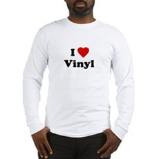 I Love Vinyl Long Sleeve T-Shirt
