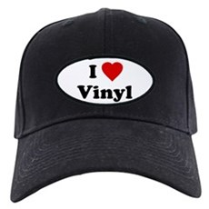 I Love Vinyl Black Cap