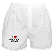 I Love Soccer Moms Boxer Shorts