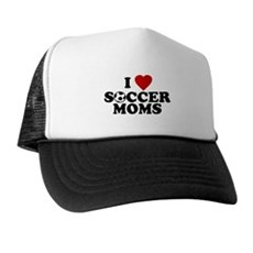 I Love Soccer Moms Trucker Hat