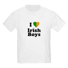 I Love Irish Boys Kids T-Shirt