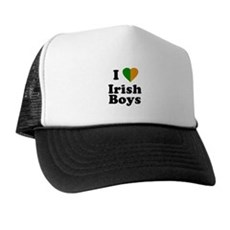 I Love Irish Boys Trucker Hat