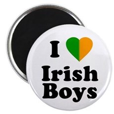 I Love Irish Boys Magnet