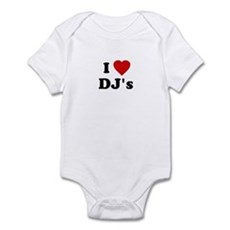 I Love DJ's Infant Creeper