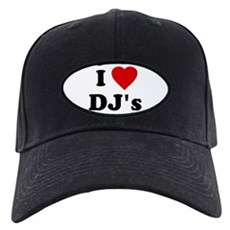I Love DJ's Black Cap