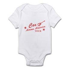 Cox Across America Tour Infant Bodysuit