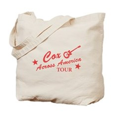 Cox Across America Tour Tote Bag