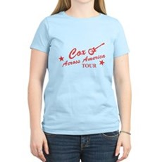 Cox Across America Tour Womens Light T-Shirt