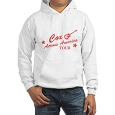 Cox Across America Tour Hooded Sweatshirt