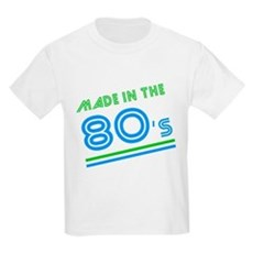 Made in the 80's Kids Light T-Shirt