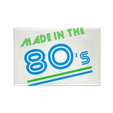 Made in the 80's Rectangle Magnet