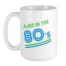 Made in the 80's Large Mug
