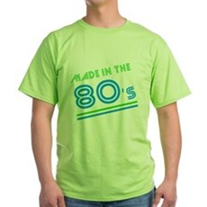 Made in the 80's Green T-Shirt
