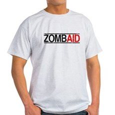 ZombAid Ash Grey T-Shirt