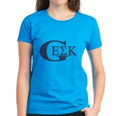 Geek House Fraterntiy (GEK) Womens T-Shirt