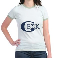 Geek House Fraterntiy (GEK) Jr Ringer T-Shirt
