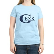 Geek House Fraterntiy (GEK) Womens Light T-Shirt