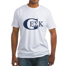 Geek House Fraterntiy (GEK) Fitted T-Shirt
