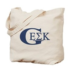 Geek House Fraterntiy (GEK) Tote Bag