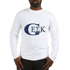 Geek House Fraterntiy (GEK) Long Sleeve T-Shirt