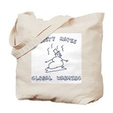 Frosty Hates Global Warming Tote Bag