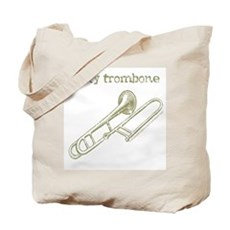 Rusty Trombone Tote Bag