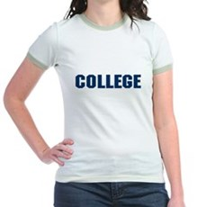 Animal House College Jr Ringer T-Shirt