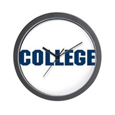 Animal House College Wall Clock