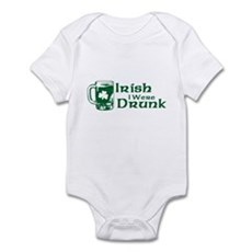 Irish I Were Drunk Infant Bodysuit