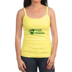 Irish I Were Drunk Jr Spaghetti Tank