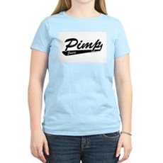 Pimp Juice Womens Pink T-Shirt