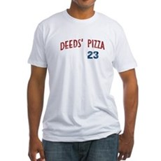 Deeds' Pizza Fitted T-Shirt