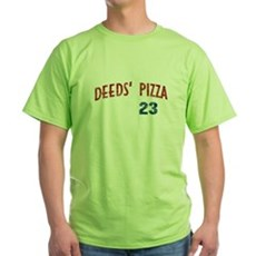 Deeds' Pizza Green T-Shirt