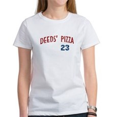 Deeds' Pizza Womens T-Shirt