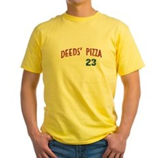 Deeds' Pizza Yellow T-Shirt