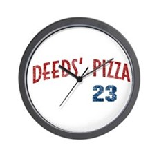 Deeds' Pizza Wall Clock