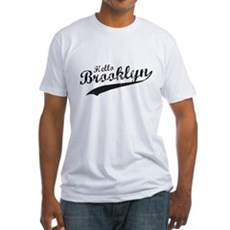Hello Brooklyn Fitted T-Shirt