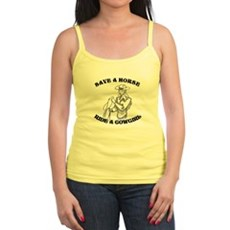 Save a Horse. Ride a Cowgirl. Jr Spaghetti Tank