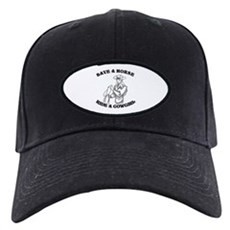 Save a Horse. Ride a Cowgirl. Black Cap
