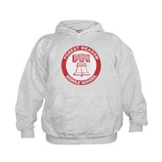 Forest Meadow Middle School Kids Hoodie