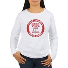 Forest Meadow Middle School Womens Long Sleeve T-