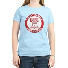 Forest Meadow Middle School Womens Light T-Shirt