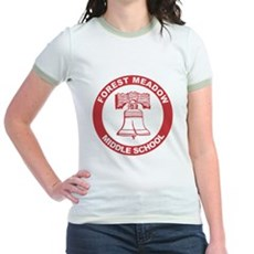 Forest Meadow Middle School Jr Ringer T-Shirt