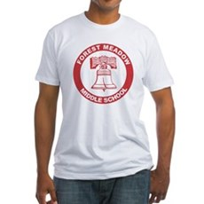 Forest Meadow Middle School Fitted T-Shirt