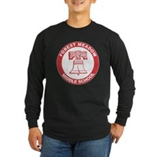 Forest Meadow Middle School Long Sleeve Dark T-Shi