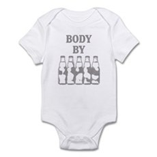Body By Beer Infant Bodysuit