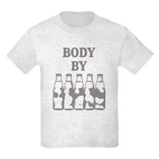 Body By Beer Kids Light T-Shirt