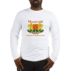 MacGyver Engineering Long Sleeve T-Shirt
