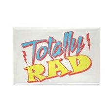 Totally Rad Rectangle Magnet